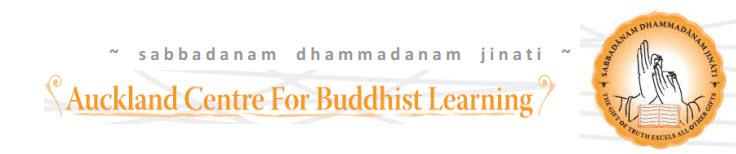 Auckland Centre for Buddhist Learning